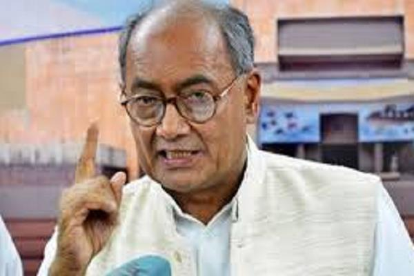 digvijay claims  congress in madhya pradesh will
