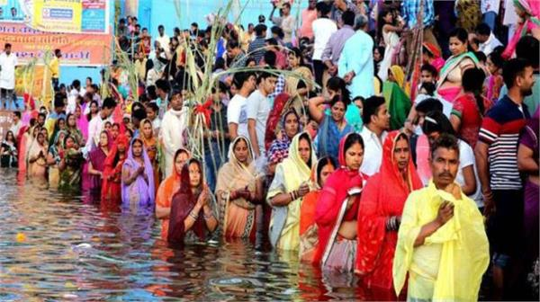 external glare is untouched by the general public s chhath