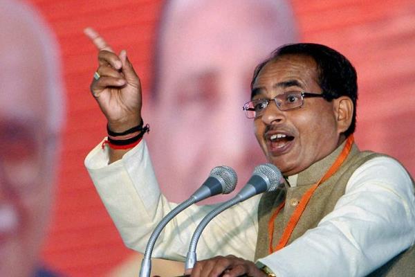 shivraj s allegations against congress  destruction