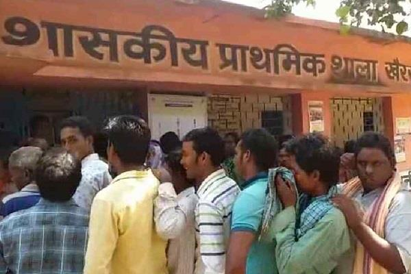 voting ends in balaghat voting on remaining seats in the state
