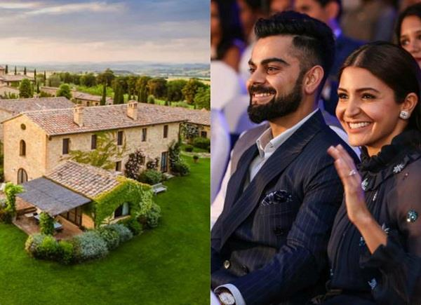 anushka sharma and virat kohli wedding resort