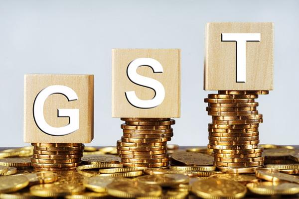 21 gst registered business tax not giving tax