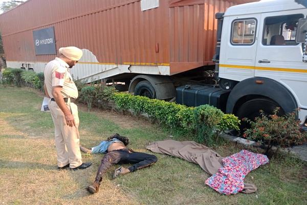 death of truck driver on diwali day