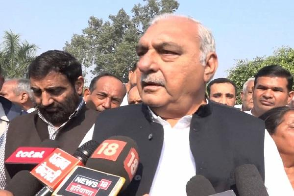 hooda said abhay chautala wants only me responsible for palestine s war