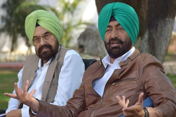 sukhpal khaira and kanwar sandhu suspended aap