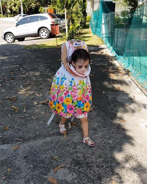 philipines mother ready a miracle dress for her daughter maya