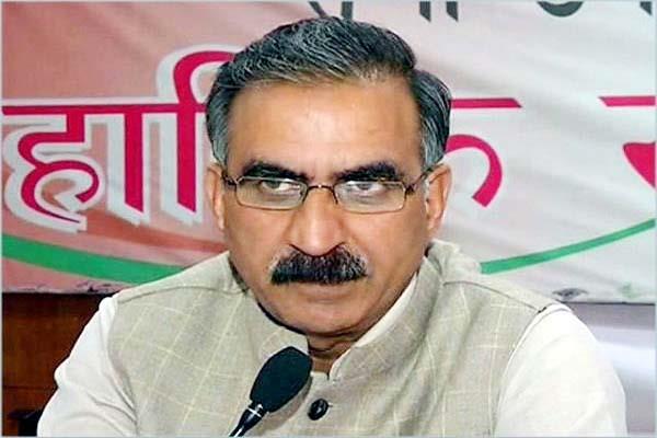 sukhu said cm jairam stop threatening congress does not panic