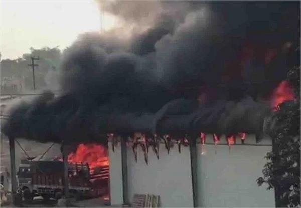 fire fighting factory fire
