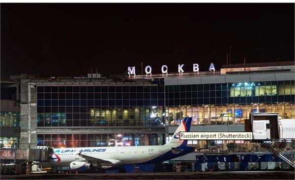 plane runs over and kills man on moscow airport runway