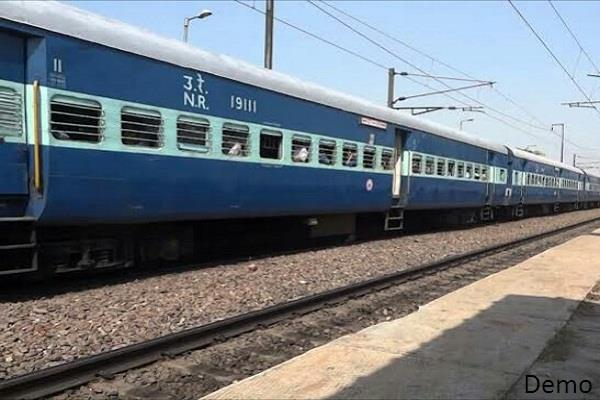 woman committed suicide by jumping ahead of train