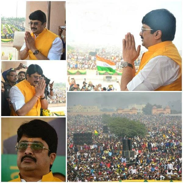 raja bhaiya craze in lucknow
