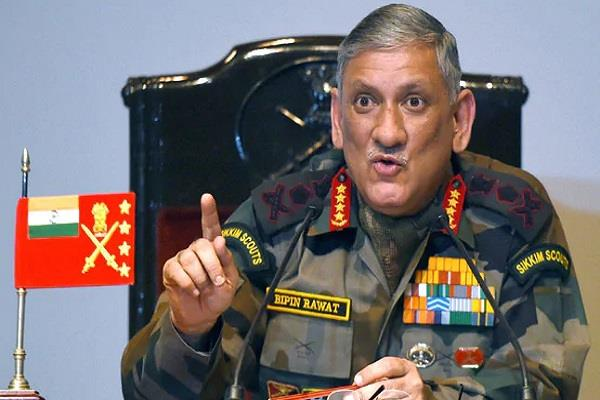 army chief says conspiracy to spread terrorism in punjab