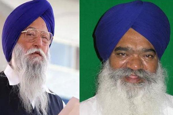 ranjit singh brahmpura and rattan singh ajnala shunt out from sad