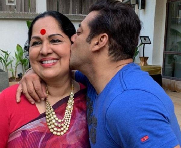 salman khan kissed shilpa shetty s mother in law