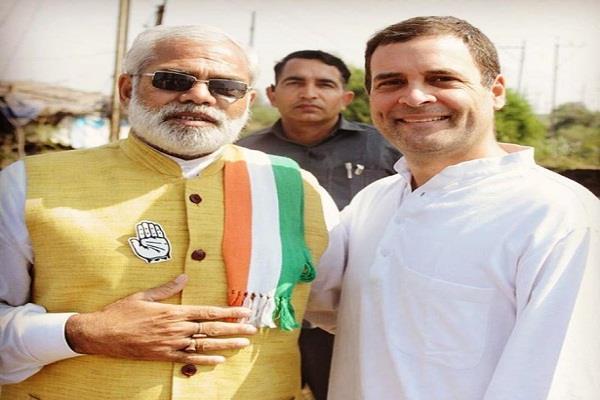 छत्तीसगढ़ चुनाव में राहुल गांधी को मिला 'मोदी' का साथ, शेयर की फोटो