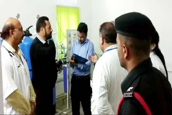 special health secretary inspected the panota hospital