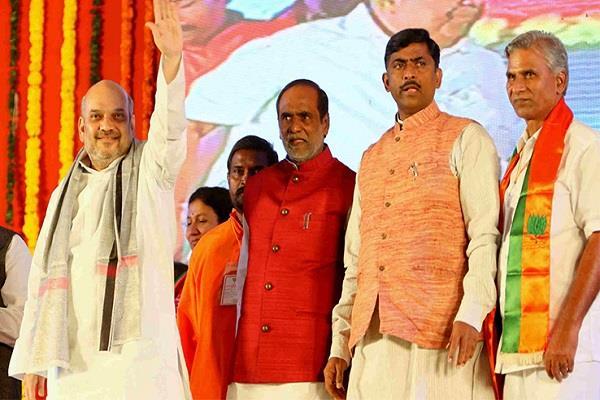 तेलंगाना विधानसभा चुनाव: भाजपा ने उम्मीदवारों की दूसरी सूची की जारी