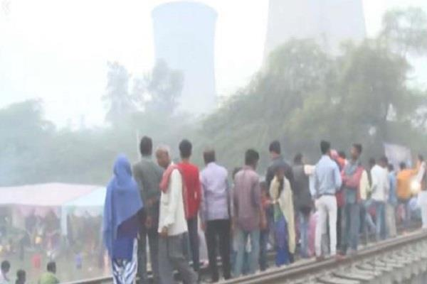 bathinda amritsar train accident did not take lessons ran on rail track