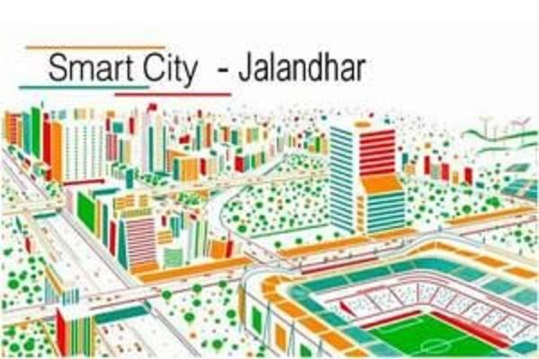 improvement in national ranking of jalandhar in smart city project