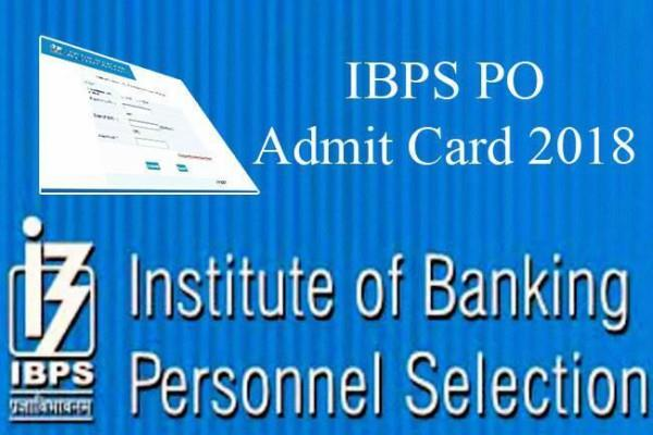 ibps exam 2018 admit card exams  ibps