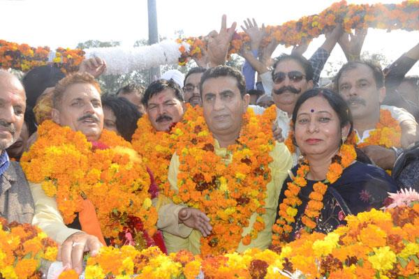 president and deputy president elected for kathua muncipality