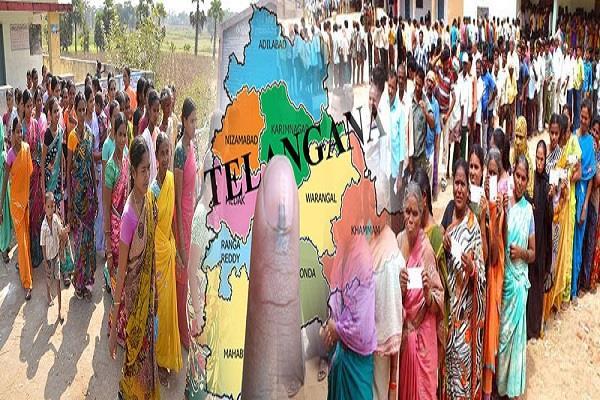 तेलंगाना चुनाव में किस्मत आजमा रहे 3584 प्रत्याशी