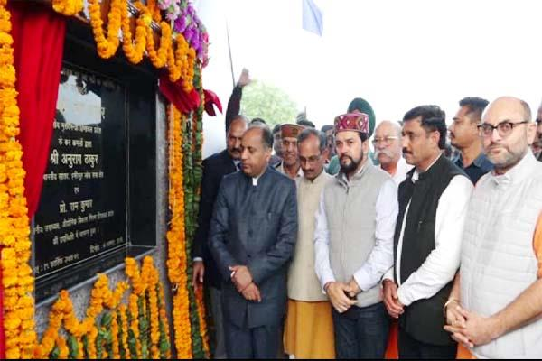 cm jairam inaugurate the longes bridge