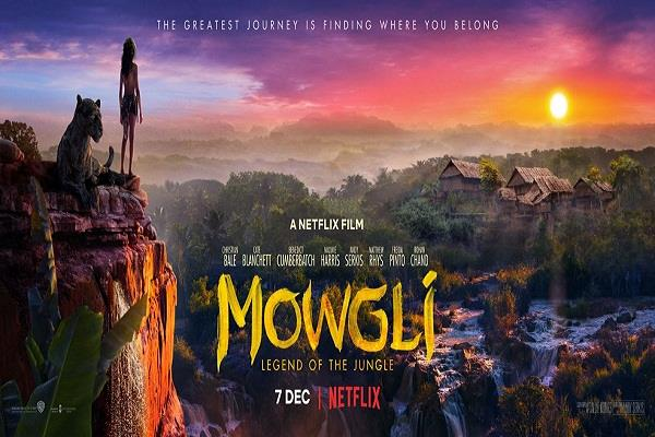 mowgli to globally release on netflix on december 7