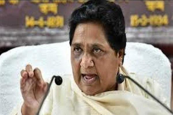 mayawati attack on bjp