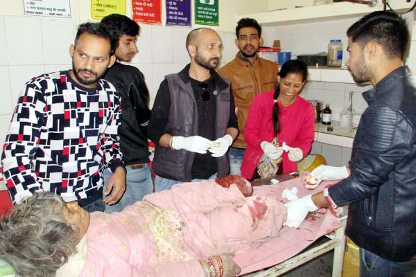 painful incident with woman tmc refer in critical condition