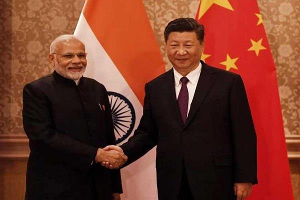 prime minister modi met the chinese president
