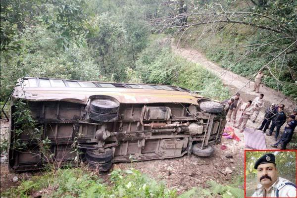 death of itbp soldier in road accident