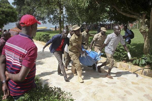 30 people die in yacht crash in uganda