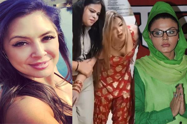 wrestler who smash rakhi sawant say she is very jealous of me