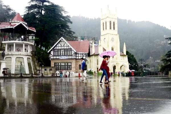weather in himachal will be bad again chances of storm with rain