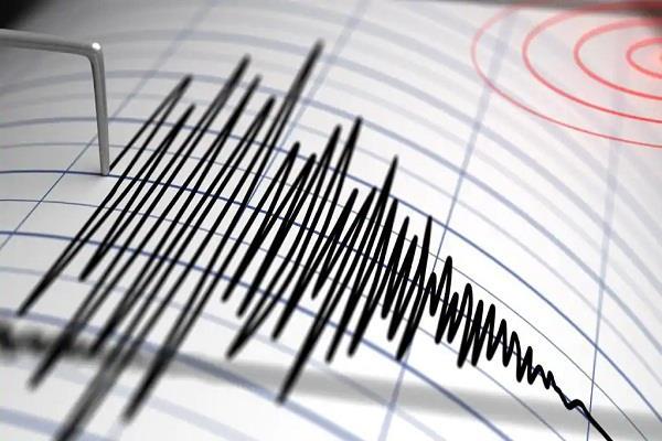 earthquake tremors near the norwegian island