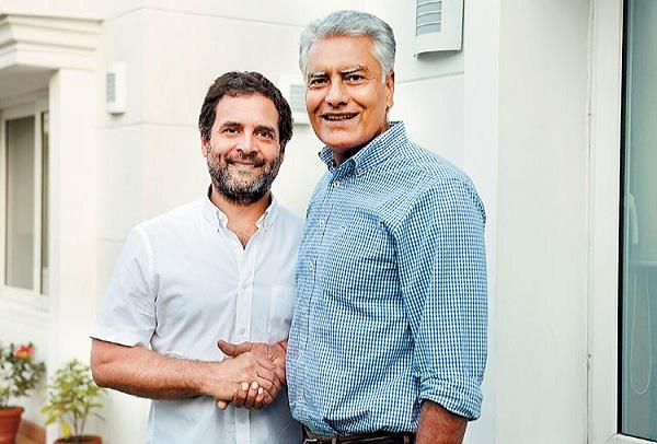 rahul want to change punjab president sunil jakhar