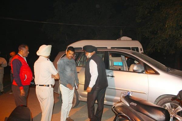 akali dal assassins attack on district head of amritsar