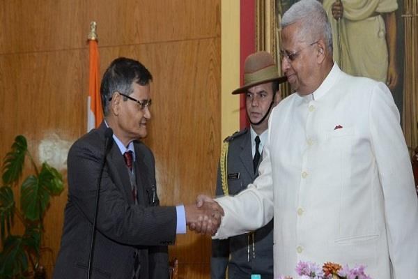 meghalaya s first lokayukta chairman became mussahari