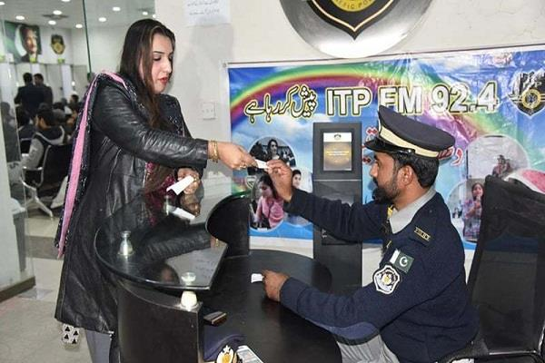 the first time driving license for seer in islamabad