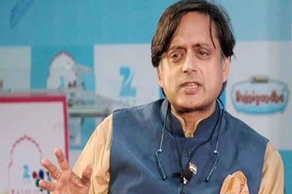 no hindus violence for their work  tharoor