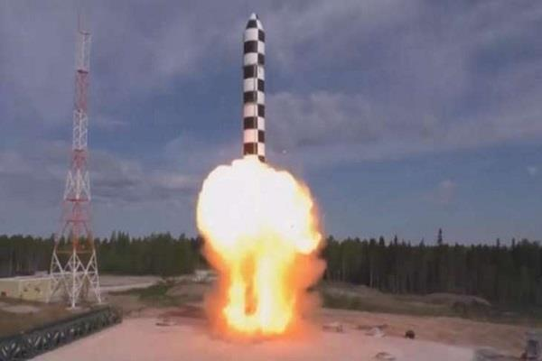 russia successfully tested the new hypersoconic missile