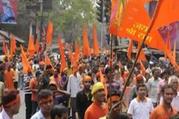vhp to hold ram rally in ayodhya today