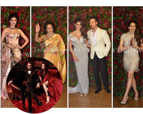 deepveer mumbai reception photos deepika padukone ranveer singh guests