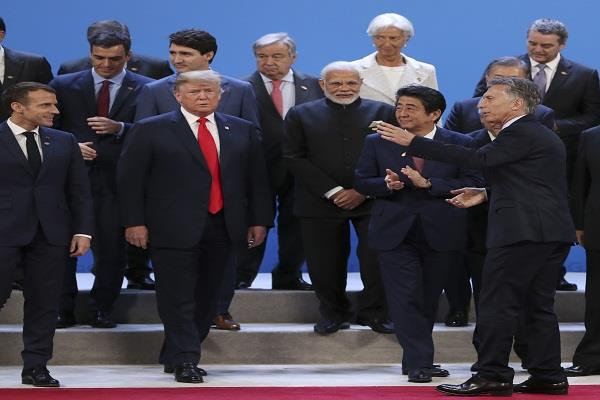 modi trump and abe discuss issues related to global interest other than g20