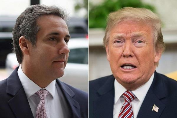 trump says himself innocent in a legal scandal a fine abscess on the attorney