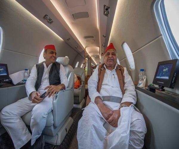 only the samajwadi party s strength to defeat bjp mulayam akhilesh