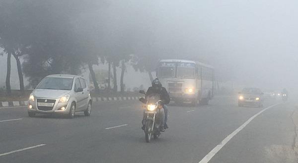fog in ludhiana