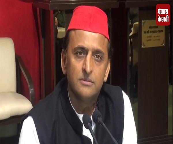 politics of the bjp is openly running in the state akhilesh yadav