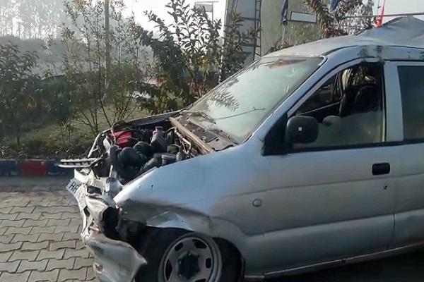 dangerous road accident in ambala 7 people killed